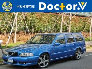 ボルボ V70 R AWD 特別限定車 最終モデル 記録簿 137項目点検