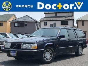 ボルボ 960エステート 960ロイヤルエステート 当店買取 黒革 電動SR 保証付