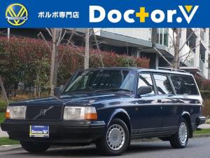 ボルボ 240ワゴン 240タックワゴン 最終型 ブルーインテリア 当店買取 ETC CDデッキ 保証付