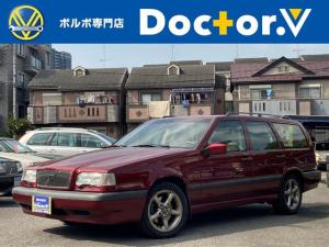 ボルボ 850エステート 850GLTエステート 左ハンドル 電動SR ベージュ本革 パワーシート シートヒーター 保証付