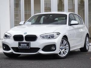 BMW 1シリーズ 118i Mスポーツ Mエアロダイナミクス M17インチAW LEDライト ドライブアシスト IDriveナビゲーション 禁煙
