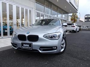BMW 1シリーズ 116i スポーツ ワンオーナー 走行1万Km 社外地デジ付HDDナビ バックカメラ 前後ドライブレコーダー 16インチアルミ SOSコール ミュージックサーバー DVD再生機能 Bluetoothハンズフリーフォン