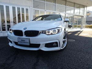 BMW 4シリーズ 420iグランクーペ Mスピリット 弊社デモカー LEDヘッドライト+LEDフロントフォグ ACC 地デジ付タッチパネル式HDDナビ シートヒーター レーンチェンジウォーニング パドルシフト 18インチアルミ 電動リアゲート