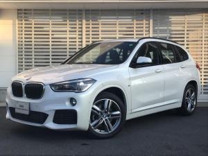 BMW X1 xDrive 18d Mスポーツ コンフォートパッケージ タッチパネル式HDDナビ シートヒーター スライディングリアシート パーキングアシスト ドライビングアシスト 電動リアゲート パーキングアシスト 2.0ETCミラー