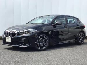 BMW 1シリーズ 118i Mスポーツ 弊社デモカー 新車保証付 ナビパッケージ コンフォートパッケージ タッチパネル式HDDナビ バックカメラ ACC 2.0ETCミラー 電動リアゲート ワイヤレスチャージング 電動スポーツシート