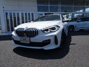 BMW 1シリーズ 118i Mスポーツ MスポーツプラスPkg ナビPkg コンフォートPkg 新車保証付 デモカー タッチナビ Mスポーツブレーキ ACC 黒18インチホイール Mリアスポイラー ライブコックピット 2.0ETCミラー
