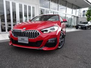 BMW 2シリーズ 218dグランクーペ Mスポーツエディションジョイ+ 新車保証付 デモカー ナビパッケージ タッチパネル式HDDナビ ライブコックピット 2.0ETCミラー ACC 18インチアルミ ドライビングアシスト パーキングアシスト レーンチェンジウォーニング