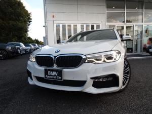 BMW 5シリーズ 523dツーリング Mスポーツ ワンオーナー ハイラインパッケージ 黒レザーシート 地デジ付タッチパネル式HDDナビ LEDヘッドライト 19インチアルミ ACC ウッドパネル ドアバイザー 社外ドラレコ リアガラスフイルム