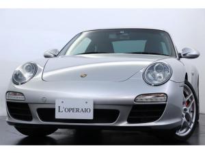 ポルシェ 911 911カレラS PDK 有償色 スポーツクロノPKG ブラックレザー 純正19インチアルミ PASM シートヒーター クルーズコントロール 社外ナビ キセノンライト レッドキャリパー カラークレスト 記録簿有