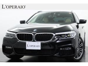 BMW 5シリーズ 523iツーリング Mスポーツ ハイラインパッケージ 有償色 ベージュ革 純正19インチアルミ 前後シートヒーター LEDヘッドライト シフトパドル ドライビングアシスト+ 純正HDDナビ 全周囲カメラ 地デジ 電動リアゲート