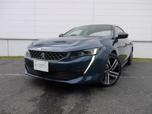 プジョー 508 GT ブルーHDi プレミアムレザーエディション 特別仕様車 ナッパレザーシート 純正ナビ ETC