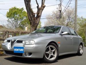 アルファロメオ アルファ156 2.5 V6 24V 弊社提携工場委託車輛 スポーツレザーシート OZ16インチホイール 車高調 社外マフラー