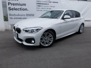 BMW 1シリーズ 118d Mスポーツ 1年保証 LEDヘッドライト 純正ナビBカメラ 車検整備付き