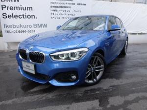 BMW 1シリーズ 118d Mスポーツ 18インチアルミ 純正ブラックレザーシート コンフォートPKG
