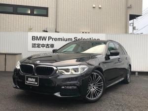 BMW 5シリーズ 523iツーリング Mスポーツ イノベーションPKG ヘッドアップディスプレイ ジェスチャーコントロール 電動トランクゲート フルセグTV 純正HDDナビ バックカメラ トップビューカメラ LEDヘッドライト