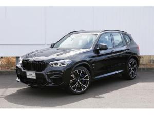 BMW X3 M コンペティション リアシートアジャスト 黒レザー デモカー