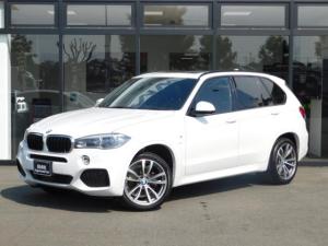 BMW X5 xDrive 35d Mスポーツ20AWサンルーフLED黒革