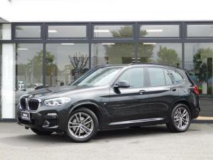 BMW X3 xDrive 20d Mスポーツ 19AWコンフォートアクセスSOSコールCD/DVDフルセグTVオートホールド全周位カメラ全周囲PDC黒革電動シートUSBパドルシフトMFSアルミトリムMコレACC