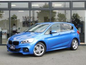 BMW 2シリーズ 218dアクティブツアラー Mスポーツ 17AW コンフォートアクセス オートトランク バックカメラ 前後センサー パーキングアシスト ブラックキドニーグリル LEDヘッドライト インテリジェントセーフティ SOSコール ミラーETC