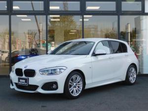 BMW 1シリーズ 118d Mスポーツ BカメラMFSドライビングアシストMコレiDriveスポーツシートSOSリヤPDCアイドリングストップMTエアコンミラーETC