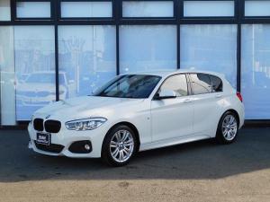 BMW 1シリーズ 118i Mスポーツ 17AW バックカメラ リアセンサー ブラックキドニーグリル LEDヘッドライト ミラーETC インテリジェントセーフティ