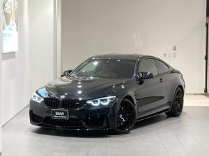 BMW M4 M4クーペ コンペティション アダプティブLEDカーボンルーフ前後センサー赤革スポーツパワーシート20インチAWハーマンカードンスピーカーMシートベルトMステアリングカーボンルーフフロントスポイラーシートヒーターバックカメラ