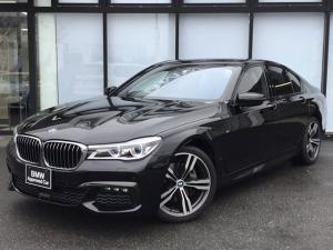 BMW 7シリーズ 740i Mスポーツ レーザーライトヘッドライト サンルーフ 全方位カメラ 全方位センサー パーキングアシスト エアサスペンション 前車追従機能 ヘッドアップディスプレイ シートヒーター シートエアコン マッサージシート