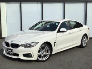 BMW 4シリーズ 420iグランクーペ Mスポーツ 18AW 前車追従クルコン バックカメラ リアセンサー オートトランク コンフォートアクセス アルカンタラ電動シート パドルシフト インテリジェントセーフティ ミラーETC