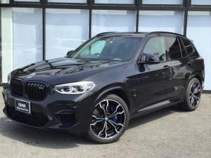 BMW X3 M コンペティション 21AW ハーマンカードンスピーカー 前車追従クルコン 黒革電動シート シートヒーター シートエアコン トップビューカメラ ヘッドアップディスプレイ レーンコントロール オートトランク