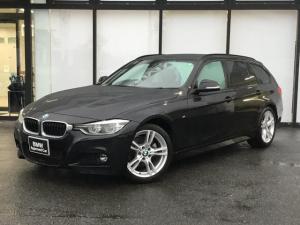 BMW 3シリーズ 318iツーリング Mスポーツ 弊社下取り車両 バックカメラ 後方センサー 18インチAW LEDヘッドライト オートトランク アルカンターラスポーツ電動シート コンフォートアクセス アイドリングストップ Bluetooth USB