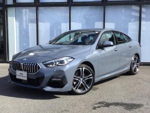 BMW 2シリーズ 218iグランクーペ Mスポーツ 18AW 前車追従クルコン バックカメラ 前後センサー パーキングアシスト 後退アシスト コンフォートアクセス LEDヘッドライト インテリジェントセーフティ アンビエントライト 電動シート