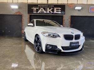 BMW 2シリーズ 220iクーペ Mスポーツ 純Bカメ Fリップ 新品19AW