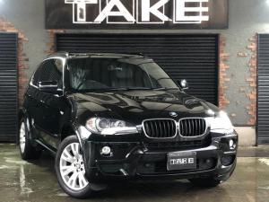 BMW X5 3.0si Mスポーツ 1オーナー 黒レザー 純正ナビBカメ