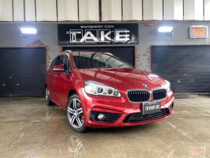 BMW 2シリーズ 220iグランツアラー スポーツ LEDヘッドライト・電動リアゲート・7人乗り