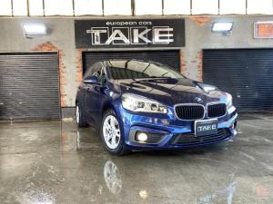 BMW 2シリーズ 218iアクティブツアラー ワンオーナー車・車検令和4年1月まで・低走行・LEDヘッドライト