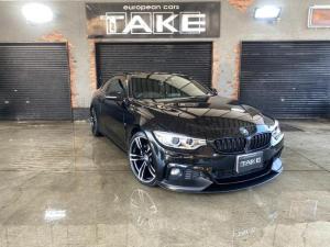 BMW 4シリーズ 420iクーペ Mスポーツ 当店オリジナルカスタム・1オーナー・Mperformance仕様フロントリップ・カーボントランクスポイラー・社外地デジ・ACC・レーンチェンジウォーニング・新品社外ホイール&新品タイヤ