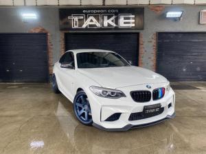 BMW 2シリーズ 220iクーペ Mスポーツ M2仕様化計画中 当店オリジナル19インチホイール ノーマル車お求めの方はお早め
