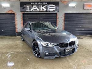 BMW 3シリーズ 320d Mスポーツ 1オーナー・後期型・LEDヘッドライト&LEDフォグ・ACC・ブラックグリル・社外19インチホイール・2019&2020年Pirelliタイヤ