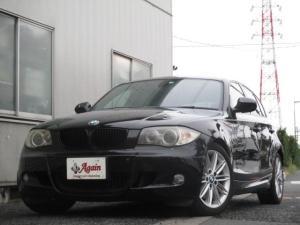 BMW 1シリーズ 120i Mスポーツパッケージ 正規D車 右H 黒レザー 禁煙 地デジHDDナビ スマートキー パワーシート シートヒーター ETC