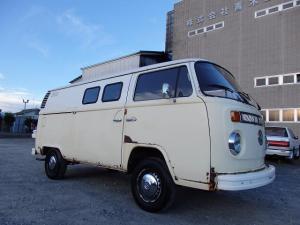 フォルクスワーゲン タイプII ベースグレード 空冷VW 1973年式 TYPE-2 W-DOORワーゲンパネルバン