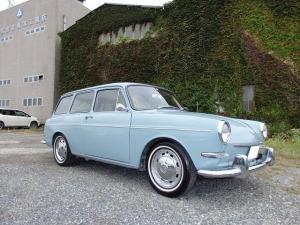 フォルクスワーゲン タイプIII ベースグレード 空冷VW 1967年式 TYPE-3 SQBワーゲンスクエアバック 1600リビルトEG スライディングルーフ ホワイトリボンタイヤ 純正スチールホイール トリムリング ココマット クイックシフター