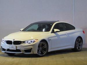 BMW M4 M4クーペ 認定中古車 純正HDDナビ ブラックレザー シートヒーター メモリー付きパワーシート バックカメラ ルームミラー内蔵ETC LEDヘッドライト インテリジェントセーフティー カーボンルーフ
