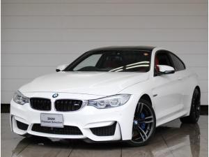 BMW M4 M4クーペ 正規認定中古車 1オーナー 衝突回避被害軽減ブレーキ サキールオレンジレザー バックカメラ 前後障害物センサー 純正HDDナビ ミラーETC 地デジ Bluetooth接続 社外フロントカメラ LEDヘッドライト