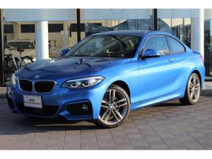 BMW 2シリーズ 220iクーペ Mスポーツ 黒レザー ACC OP18インチ