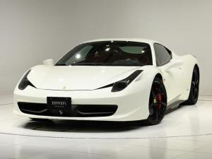 フェラーリ 458イタリア F1 DCT LEDハンドル 鍛造ホイール カーボン内装
