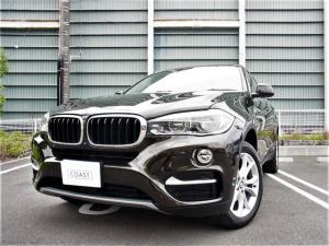 BMW X6 xDrive 35i xDrive 35iワンオーナー車 右H パドルシフト付き8速AT ガラスサンルーフ コンフォートアクセス LEDヘッドライト アダプティブクルーズ パワーバックドア ディーラー整備記録簿 スペアキー