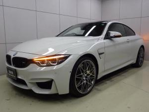 BMW M4 M4クーペ コンペティション Mカーボンブレーキ クルーズコントロール ヘッドアップディスプレイ フルセグTV 正規認定中古車