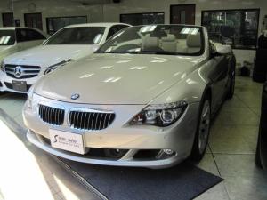 BMW 6シリーズ 650iカブリオレ ディーラー車 右ハンドル 19インチAW 全ディーラー点検整備記録簿