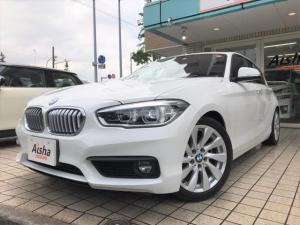 BMW 1シリーズ 118i セレブレ マイスタイル黒レザー・LED・限定車