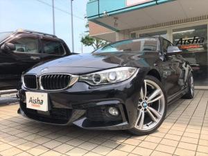 BMW 4シリーズ 420iクーペ Mスポーツ 19AW・ACC・Dアシスト・iDriveナビ・Bカメラ・ETC・ドラレコ